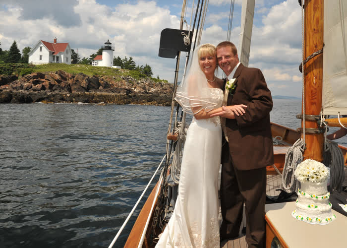 Sailing Weddings in Camden Maine
