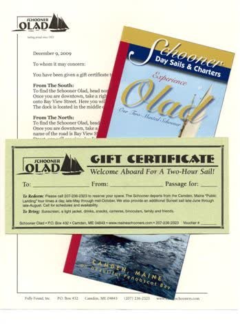 Olad Gift Certificate